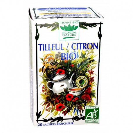 TISANE TILLEUL-CITRON BIO ROMON NATURE