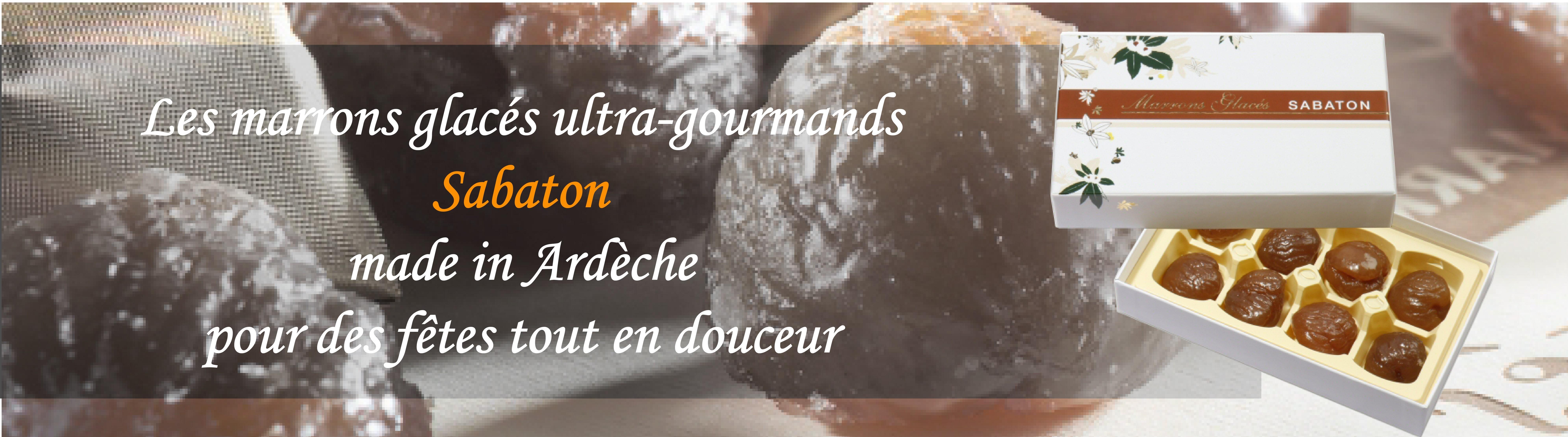 Pour les fêtes de fin d'année, misez sur les marrons glacés SABATON chez Mirvine